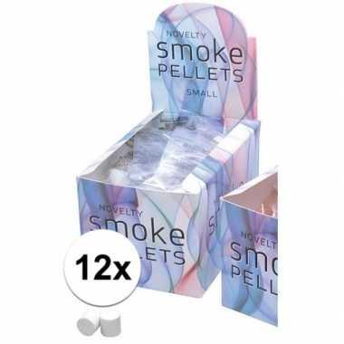 12 witte feest rook pluimen- feestje!