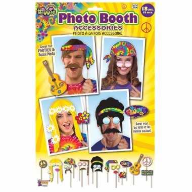18x foto props hippie feestje- feestje!