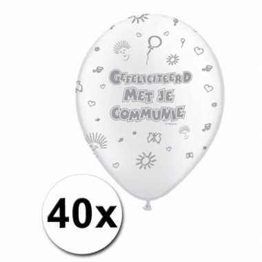 1e communie feest ballonnen actiepakket- feestje!