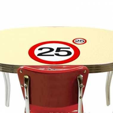 25 jaar tafel feestartikelen- feestje!