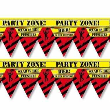 2x waar is dat feestje party tape/markeerlinten 12 m- feestje!