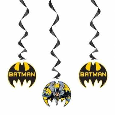 3x batman themafeest hangdecoraties- feestje!