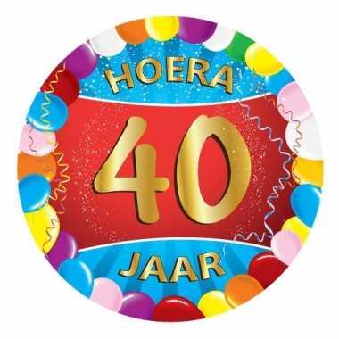 Vaak 40 jaar feest onderzetters- feestje! | Jokesfeestwinkel.nl &HH53