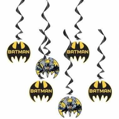 6x batman themafeest hangdecoraties- feestje!