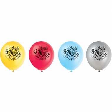 8x batman themafeest ballonnen- feestje!