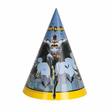 8x batman themafeest punthoedjes- feestje!