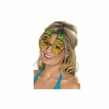 Ananas brillen tropisch thema feest- feestje!