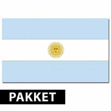 Argentinie feestartikelen pakket- feestje!
