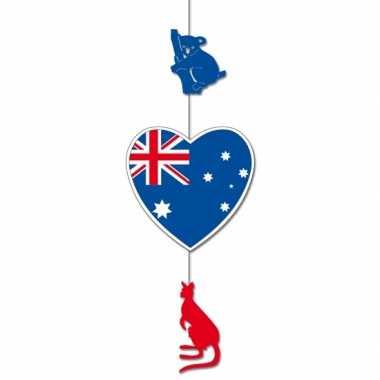 Australie feestversiering hangend 85 x 30 cm- feestje!