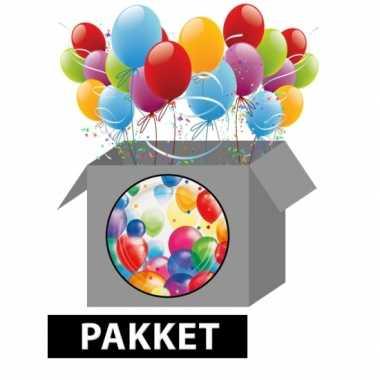 Ballonnen feestpakket versiering- feestje!