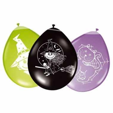 Ballonnen voor een heksenfeestje feestje