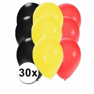 Belgische feest ballonnen 30 st- feestje!