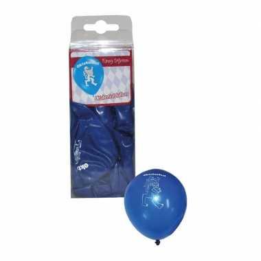Bierfeest ballonnen bayern 12 stuks- feestje!
