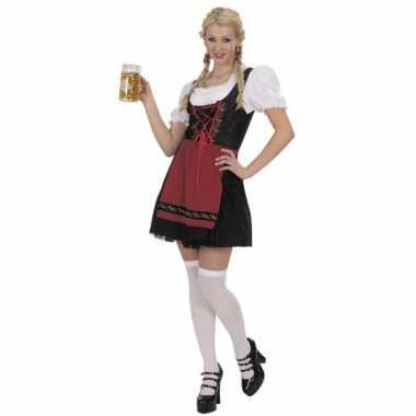 Bierfeest dames jurk zwart- feestje!