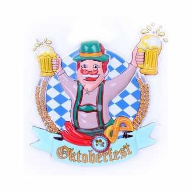 Bierfeest wandbord hans 44 cm- feestje!
