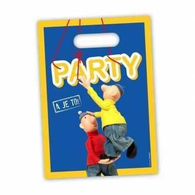 Buurman & buurman feestzakjes 8 stuks- feestje!