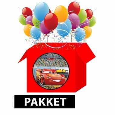 Cars kinderfeestje pakket- feestje!