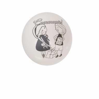 Communie feest ballonnen 8 stuks feestje