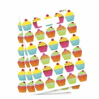 Cupcake feest uitdeelzakjes- feestje!