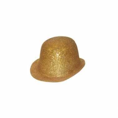 Feest bolhoed met gouden glitters- feestje!