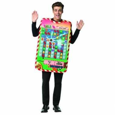 Feest candy crush verkleedoutfit voor volwassenen- feestje!
