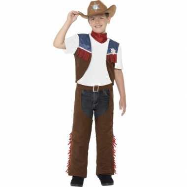 Feest cowboy verkleedoutfit voor jongens feestje
