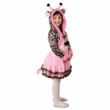 Feest giraffe verkleedoutfit voor meisjes feestje