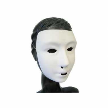 Feest grimeer masker wit feestje
