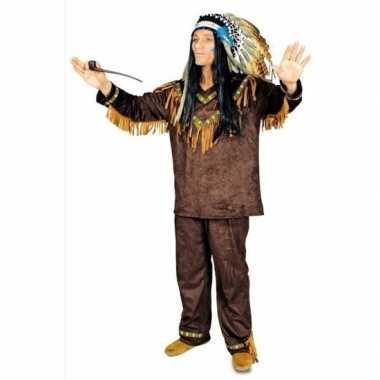 Feest indianen verkleedoutfit voor heren feestje