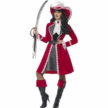 Feest kapitein verkleedoutfit voor dames- feestje!