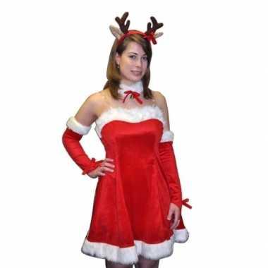 Feest kerstjurkje rendier voor dames feestje