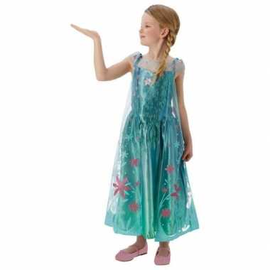 Feest kostuum elsa frozen voor meisjes feestje