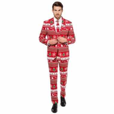 Feest kostuum kerstmis print- feestje!