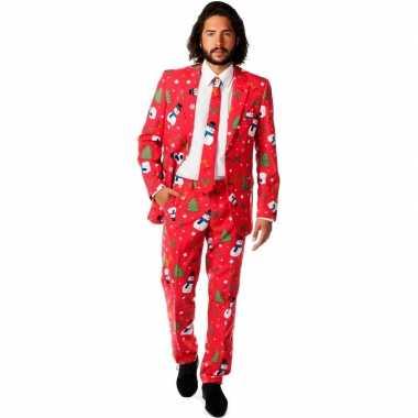 Feest kostuum kerstmis print feestje
