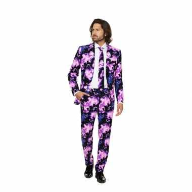 Feest kostuum met galaxy print- feestje!
