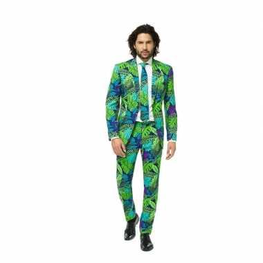 Feest kostuum met jungle print- feestje!