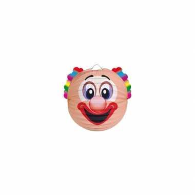 Feest lampion clown 20 cm- feestje!