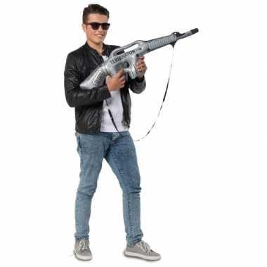 Feest mega opblaas machinegeweer- feestje!