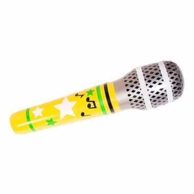 Feest mega opblaas microfoon feestje