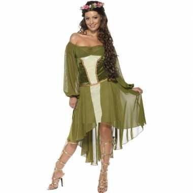 Feest middeleeuwse verkleedoutfit voor dames- feestje!