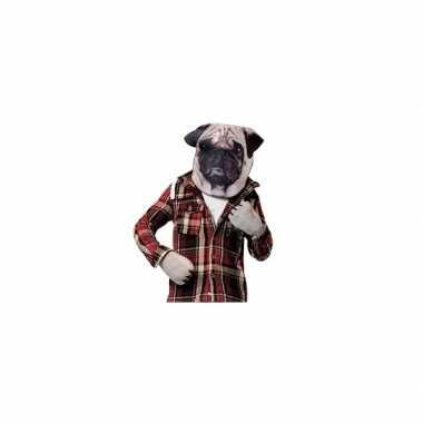Feest mopshond verkleedset voor volwassenen feestje