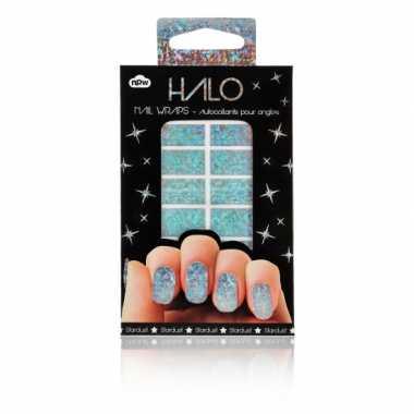 Feest nagel sticker pakket glitter- feestje!