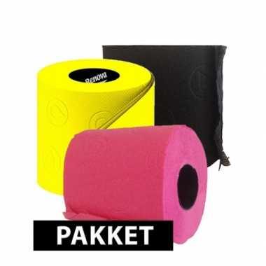 Feest op het toilet pakket type b- feestje!