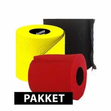 Feest op het toilet pakket type c- feestje!