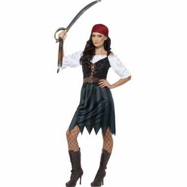 Feest piraat verkleedoutfit voor dames- feestje!