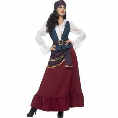 Feest piraat verkleedoutfit voor dames feestje