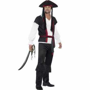 Feest piraat verkleedoutfit voor heren- feestje!