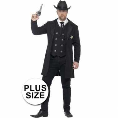 Feest sheriff verkleedoutfit voor heren feestje