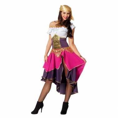 Feest zigeunerin verkleedoutfit voor dames- feestje!