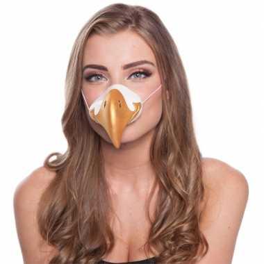 Feestartikelen adelaar neus masker- feestje!